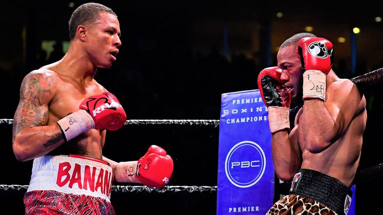Rosario halted Julian Williams to take IBF and WBA super-welterweight titles