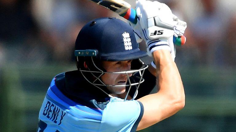 England batsman Joe Denly is out of the ODI series against Ireland