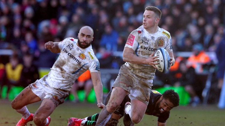 Exeter Chiefs are top of the Gallagher Premiership