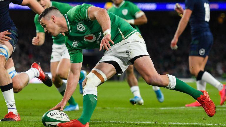 Ireland beat Scotland in their opening game