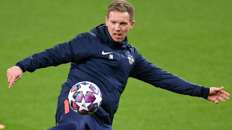 Julian Nagelsmann is optimistic about his team's chances of making the last eight
