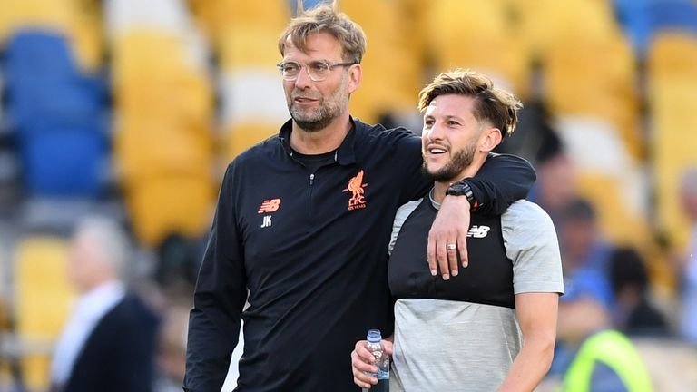 Leicester make 'initial approach' over Liverpool's Lallana