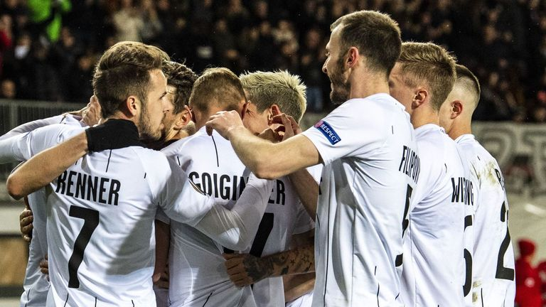 LASK are into the Europa League last-16 for the first time