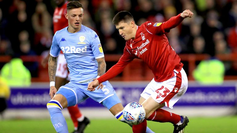Lolley laid on an assist for Tyler Walker in Forest's 2-0 win over Leeds last weekend