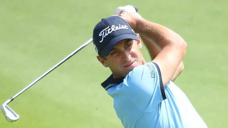 Lorenzo Gagli mixed five birdies with three bogeys in his second-round 70