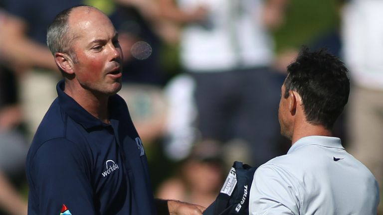 Matt Kuchar and Rory McIlroy will go out in the final group alongside Adam Scott at Riviera
