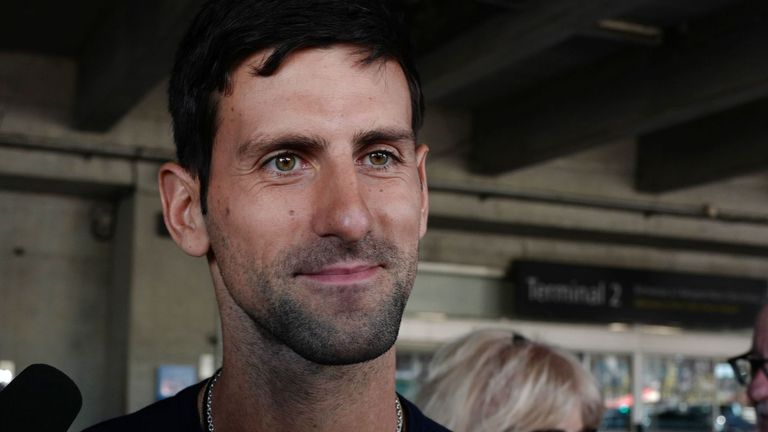 Djokovic will be bidding for his fifth title in Dubai