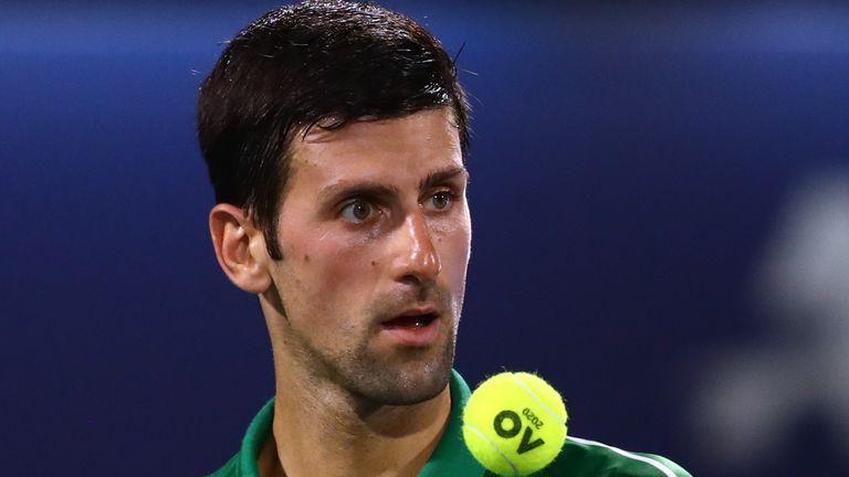 Djokovic aún no ha perdido un partido en 2020