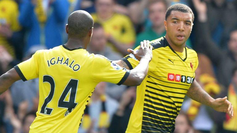 Deeney and Ighalo formed a striking partnership at Watford
