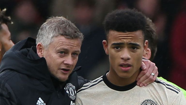 Ole Gunnar Solskjaer says Europa League has been great for likes of Mason Greenwood