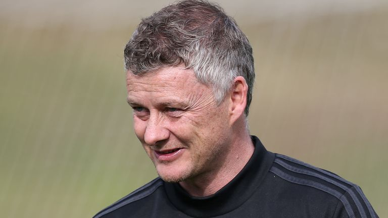 Ole Gunnar Solskjaer is confident United will be ready for the restart of the Premier League