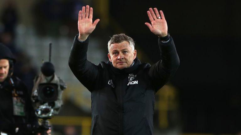 Ole Gunnar Solskjaer is dreaming of winning a trophy as Man Utd manager