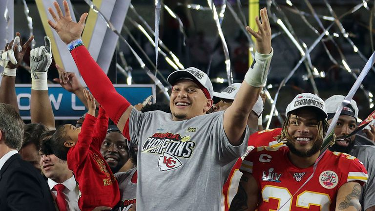 Patrick Mahomes led the Kansas City Chiefs to victory in Super Bowl LIV