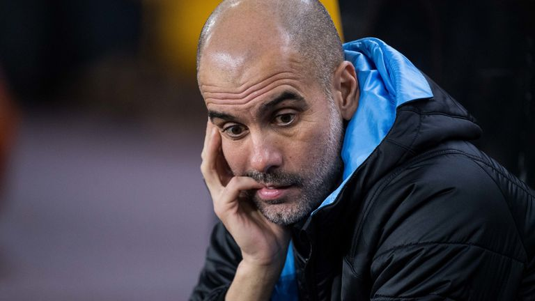 Pep Guardiola's Manchester City future has been called into question by a number of Saturday's newspapers