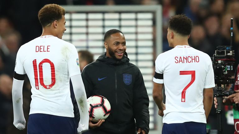 Sterling and Alli are good friends off the pitch