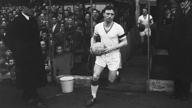 Roger Byrne captained Manchester United and was considered 'untouchable'