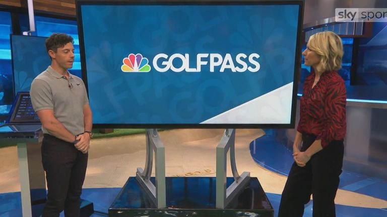 Rory McIlroy explains what GOLFPASS is and the areas it can improve your golfing experience
