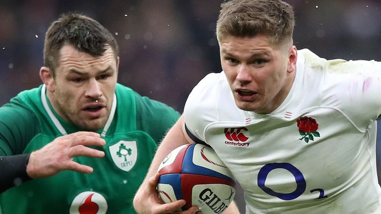 England face Ireland at Twickenham on Sunday