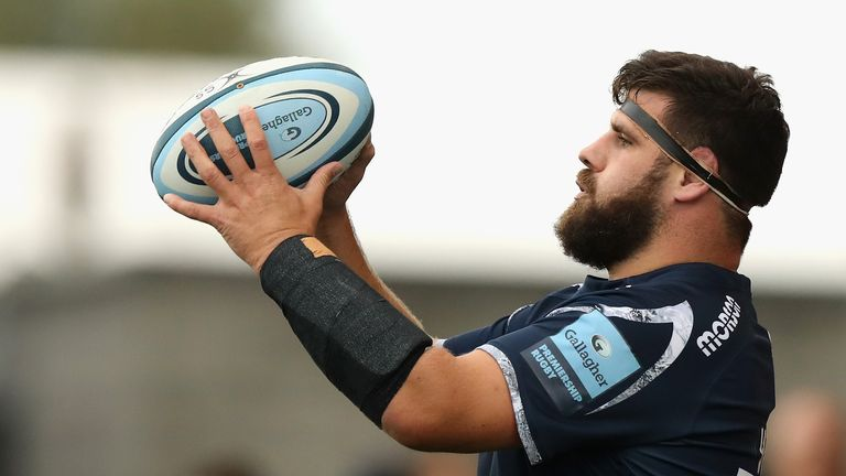 Rob Webber joined Sale Sharks in 2016