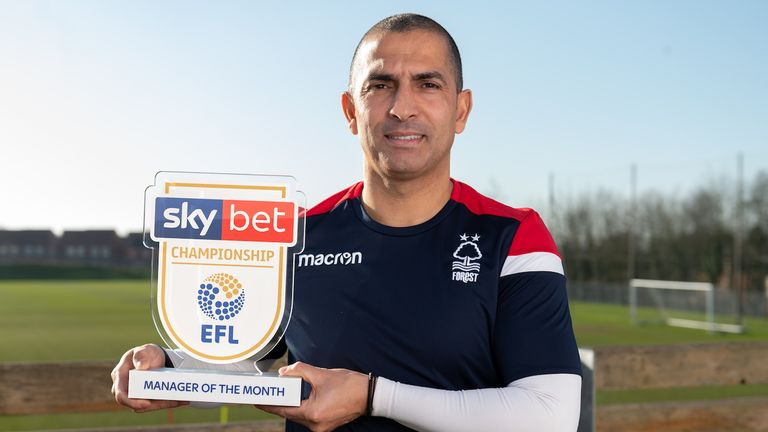 Sabri Lamouchi wins the Sky Bet Championship Manager of the Month
