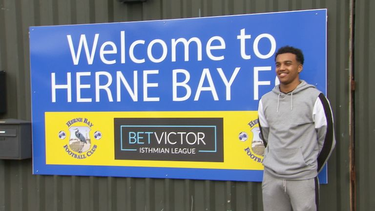 McCallum has spent the vast majority of his playing career with hometown club Herne Bay FC