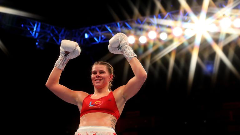 Savannah Marshall challenges for WBO light-heavyweight title