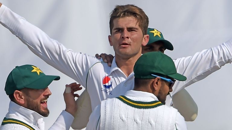 Shaheen Afridi played in every Test of Pakistan's over the winter, impressing with 18 wickets at an average of 25.66