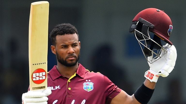 Shai Hope is flourishing in ODIs but has found Test runs more difficult