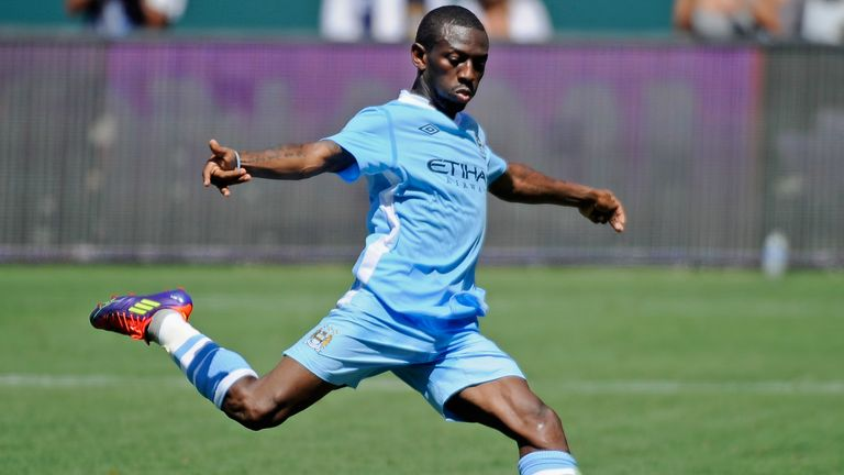 Wright-Phillips played for City between 1999-2005 and 2008-2011