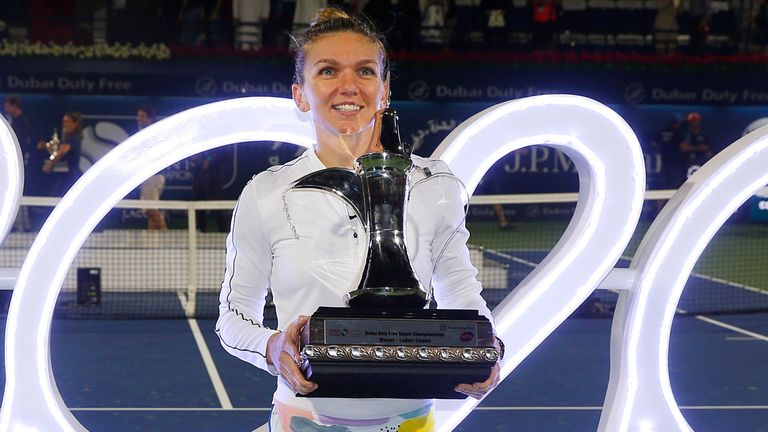 Halep stages another Dubai comeback to reach semi-finals