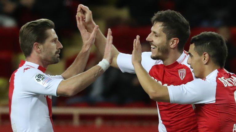 Stevan Jovetic helped Monaco to their first win of 2020