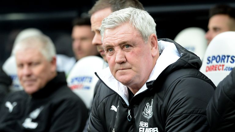 Steve Bruce has steered Newcastle to 10th in the table