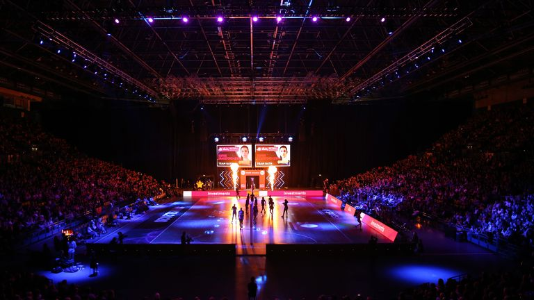 Arena Birmingham was packed from start to finish for the Season Opener
