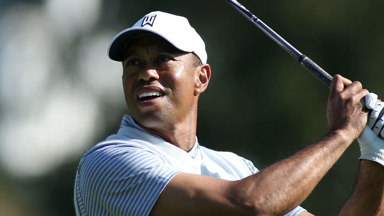 Woods slipped to level par after a 73