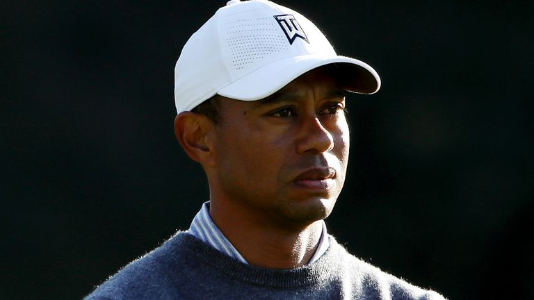 Tiger Woods has spent the last three weeks on the sidelines