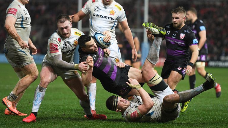 Gloucester is ninth in the Premiership table with four wins in 13 games