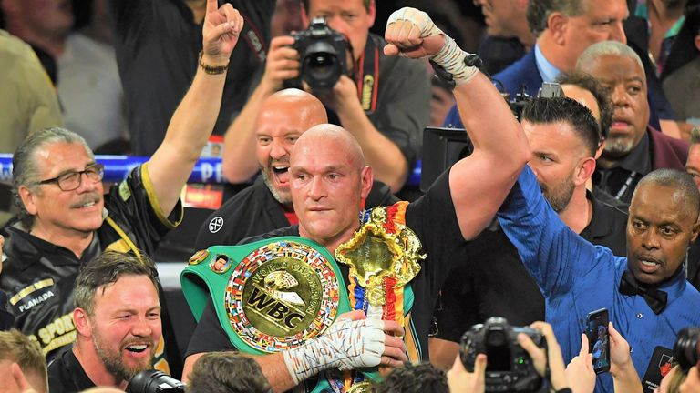 Fury stopped Wilder in the seventh round at the MGM Grand