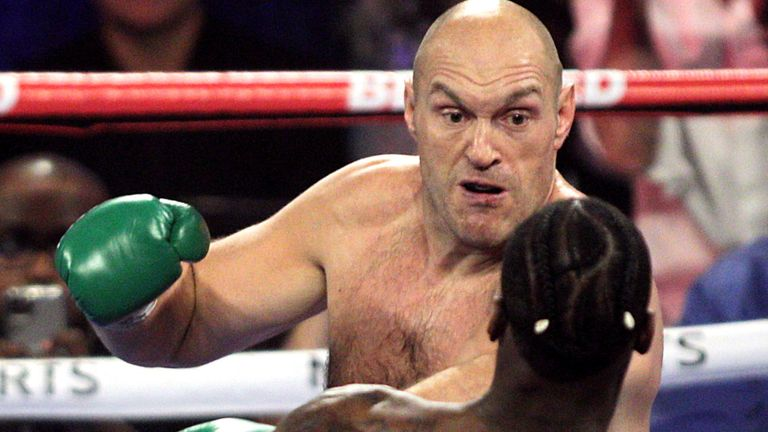Fury stopped the previously unbeaten Wilder