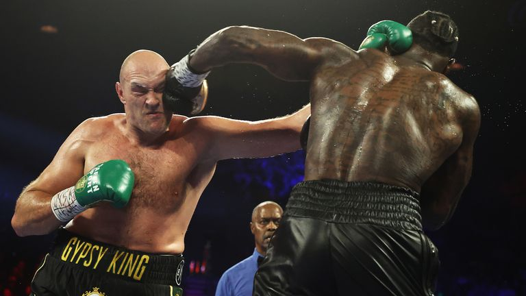 Wilder has the right to demand a rematch
