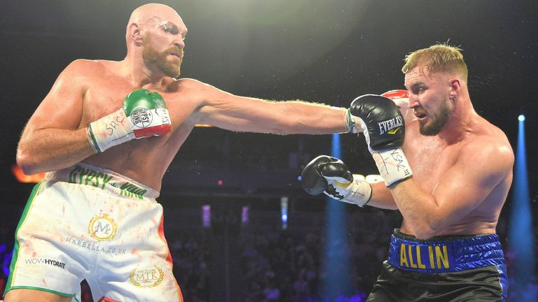 Wallin intends to rematch Fury