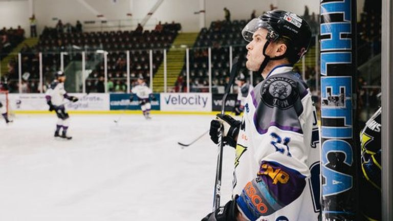 Sullivan played for Glasgow Clan and represented Great Britain at international level before joining the Storm in April 2019 (picture: Victoria Schofield)