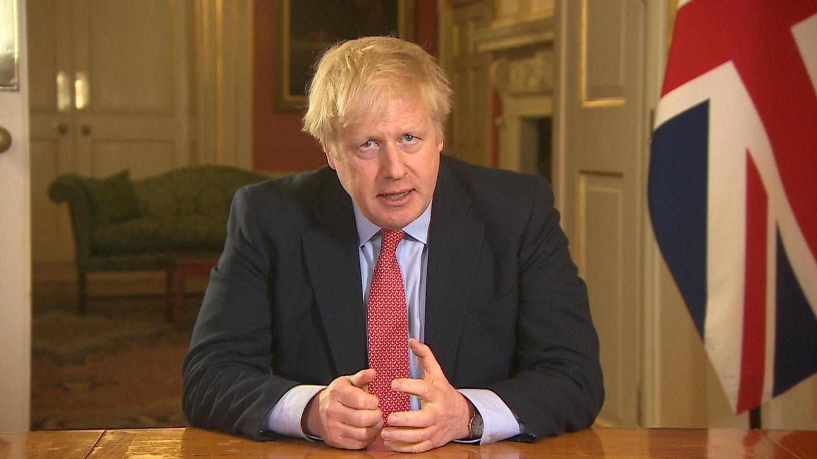 Coronavirus: PM le dice a los británicos que 'se queden en casa' - las tiendas no esenciales van a cerrar | Noticias Noticias 1