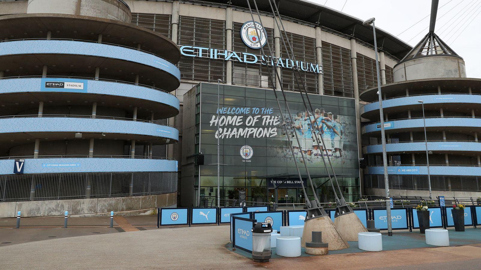 El Eithad Stadium del Manchester City será utilizado por el NHS | Noticias de futbol 56