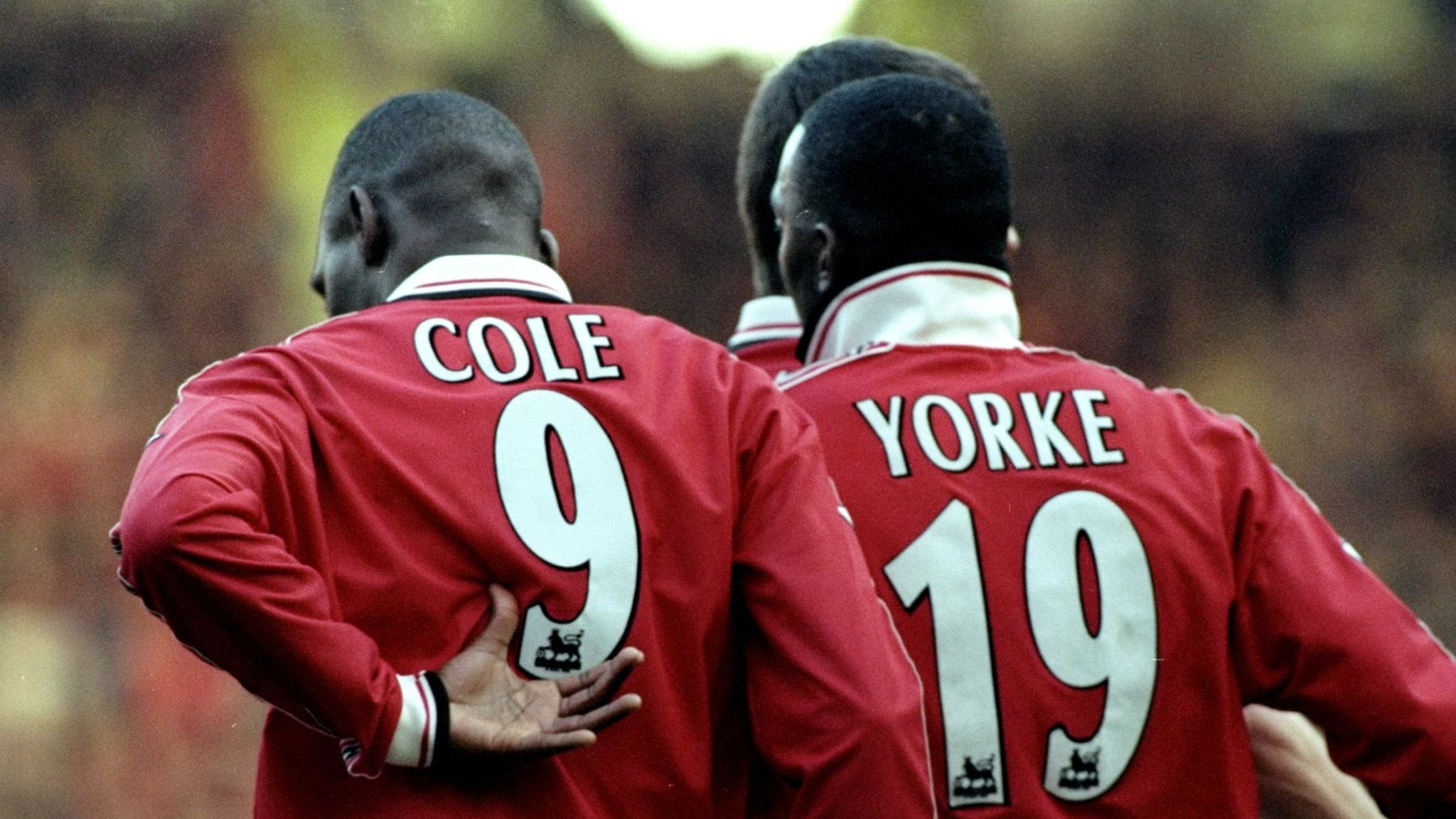 Dwight Yorke and Andy Cole: What made Manchester United strike partnership  so special?   Football News   Sky Sports