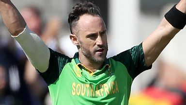 Faf du Plessis looks set to extend his South Africa career