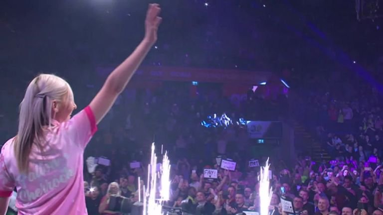 Women's darts has risen dramatically this past year, with Fallon Sherrock winning in the World Darts Championship and Lisa Ashton earning a PDC tour card through qualifying school