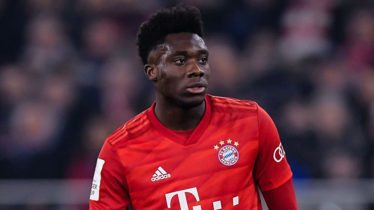 Alphonso Davies has signed a contract extension at Bayern Munich