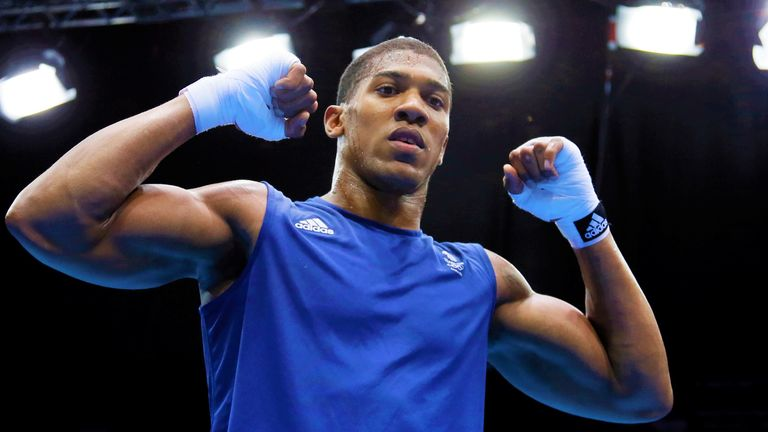 Anthony Joshua quickly earned a reputation as a destructive puncher