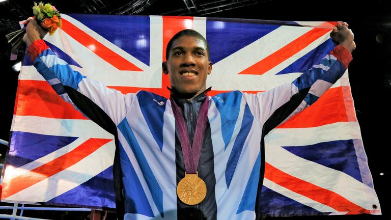 Joshua was crowned Olympic champion at London 2012 Games