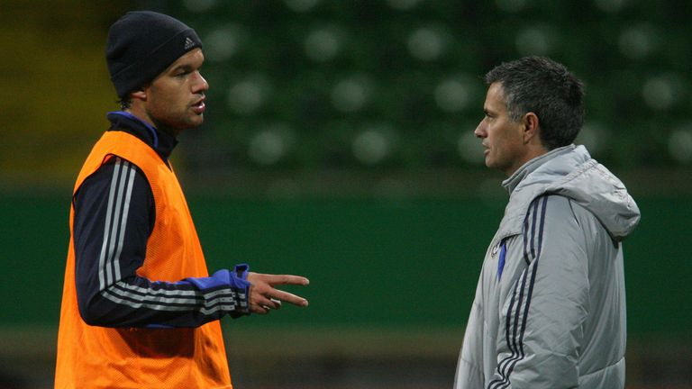 Ballack says Jose Mourinho's former players rarely have a bad word to say about him